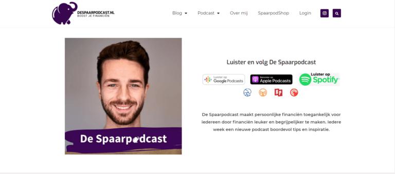 Podcast pagina