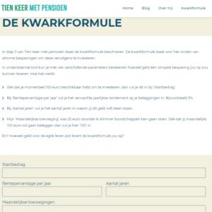 De Kwarkformule